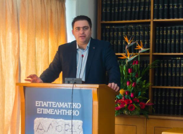Γιάννης Βουτσινάς ΔΥΚΙΕΠ παρουσιάση υποψηφιότητας